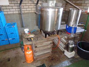 destillatieopstelling