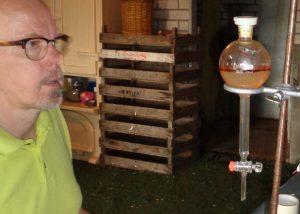 etherische olie en hydrolaat van Origanum dictamnus