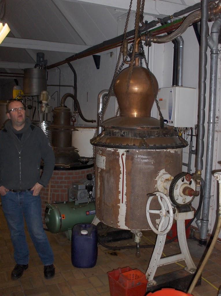 Niet destilleren maar distilleren