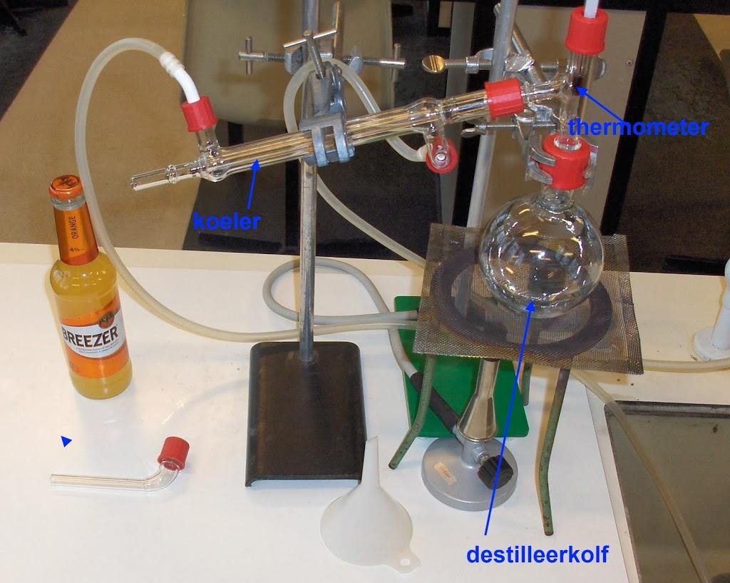 Breezer destilleren