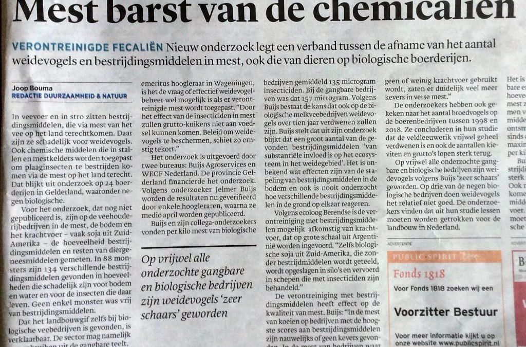 Pesticiden in etherische olie