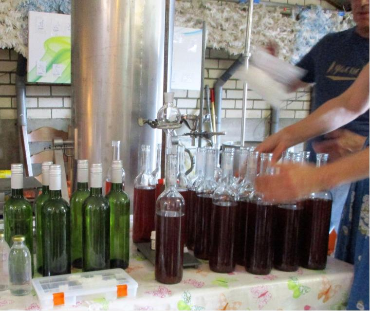 1 destillatie geeft 5 producten